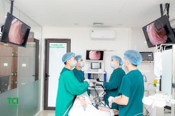 Công nghệ nội soi tiêu hóa NBI - 5P với khả năng phóng đại hình ảnh gấp 100 lần, phát hiện sớm ung thư và các bệnh lý đường tiêu hóa.