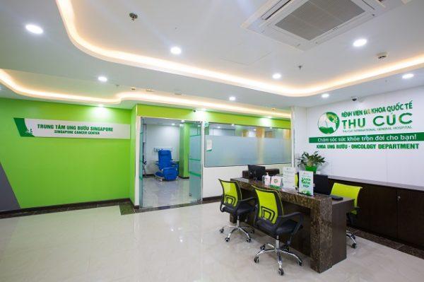 Thu Cúc đã hợp tác thành công với Singapore, thành lập Trung tâm ung bướu Singapore, đưa tiến bộ y học trong điều trị ung thư ở Singapore về Việt Nam