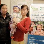 Bệnh viện Thu Cúc phẫu thuật miễn phí cho trẻ em nghèo