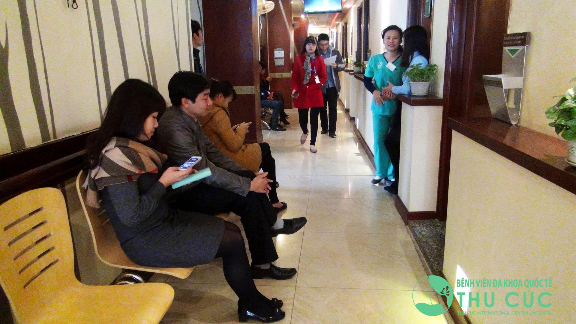 Người bệnh rất tin tưởng chất lượng dịch vụ tại Bệnh viện Thu Cúc