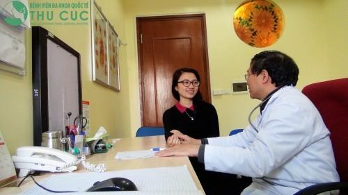 Người bệnh nên đi khám bác sỹ chuyên khoa để được chẩn đoán và điều trị kịp thời nhất.