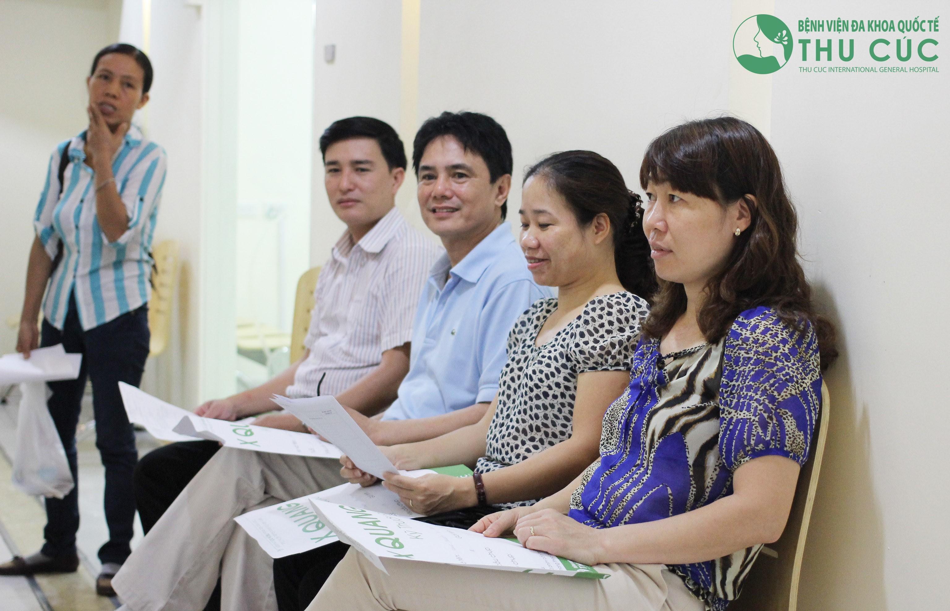 Dịch vụ khám sức khỏe định kỳ tại bệnh viện Thu Cúc