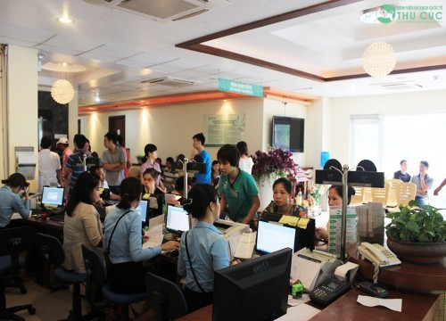 Bệnh viện Thu Cúc là địa chỉ thăm khám và chăm sóc sức khỏe tin cậy của đông đảo khách hàng, bệnh nhân trên cả nước.