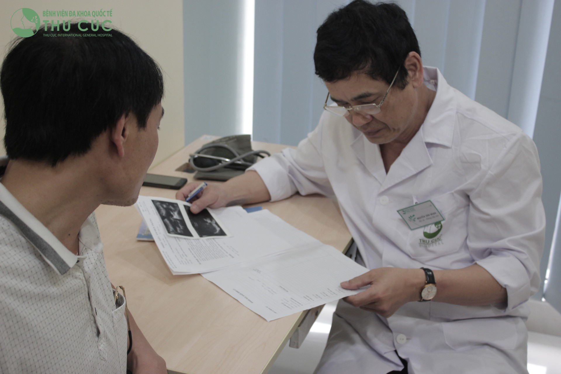 Bác sĩ bệnh viện Thu Cúc