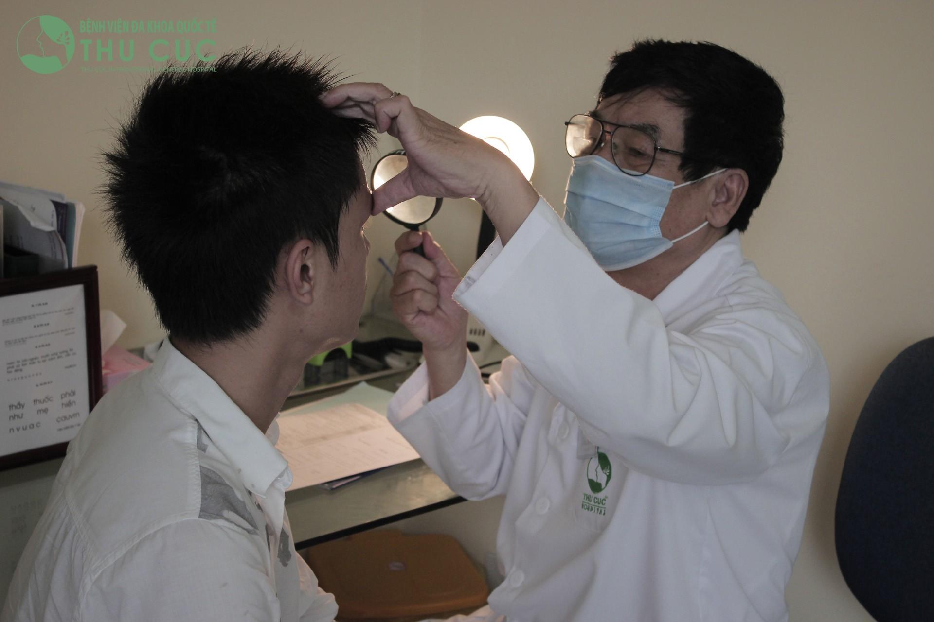 Khám mắt ở bệnh viện nào