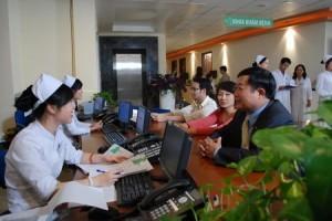 BKhám chữa bệnh theo bảo hiểm y tế tại bệnh viện Thu Cúc, thủ tục nhanh chóng, đơn giản, thuận tiện.