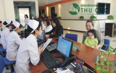 Các khoa của Bệnh viện Thu Cúc
