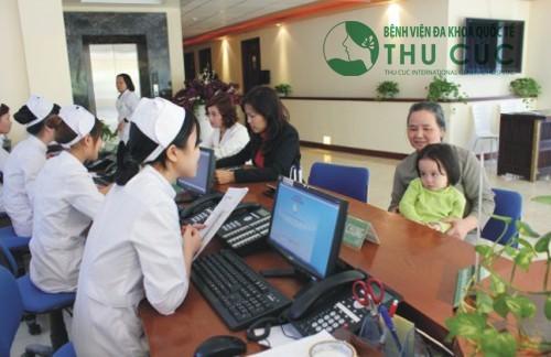 Quy trình khám bệnh tại Bệnh viện Thu Cúc