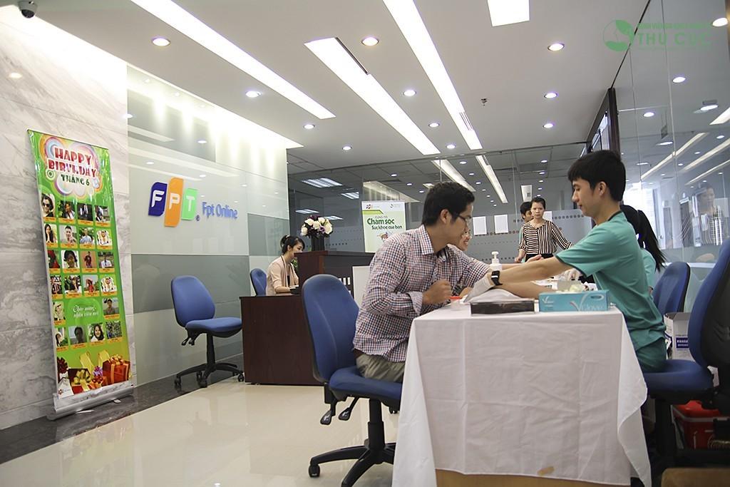 Khám sức khỏe định kỳ cho Công ty Cổ phần Dịch vụ Trực tuyến FPT