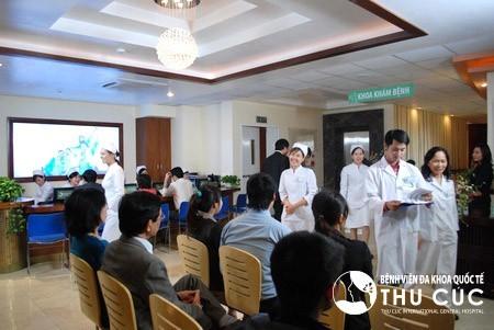 Bệnh viện Thu Cúc là địa chỉ thăm khám và chăm sóc sức khỏe uy tín được nhiều khách hàng tin chọn và đánh giá cao.