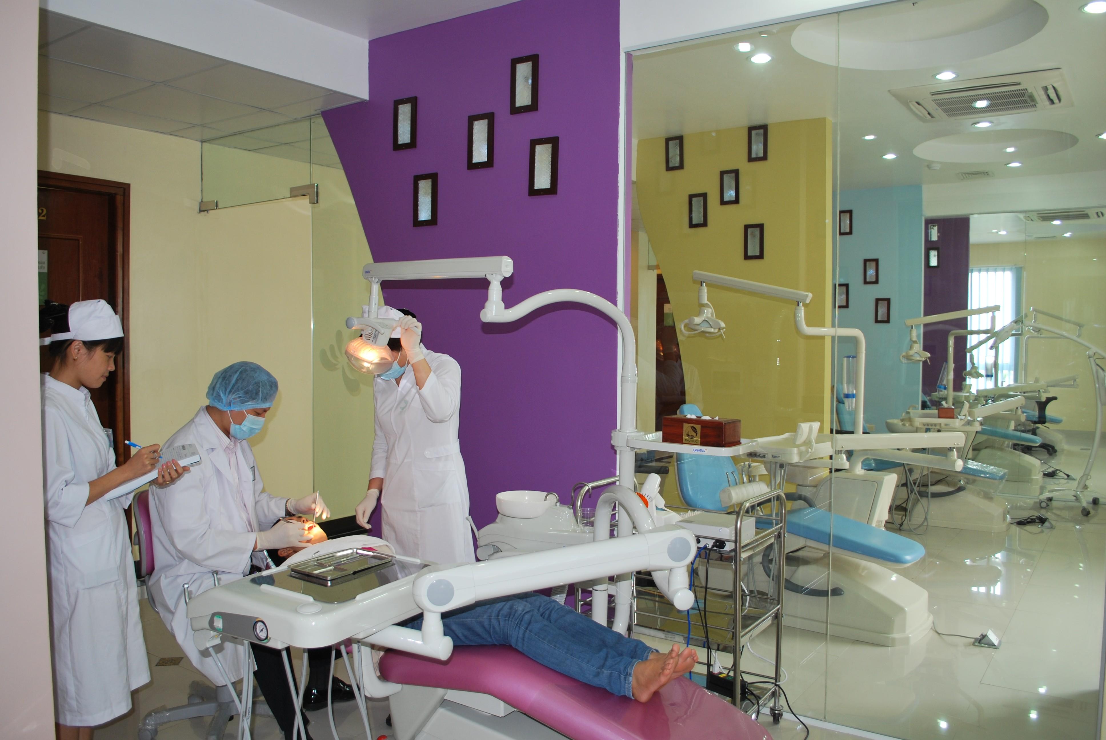 Khoa răng hàm mặt bệnh viện Thu Cúc