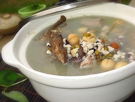 Món ăn chữa bệnh viêm mũi