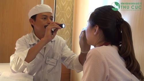 Khoa tai mũi họng - bệnh viện Thu Cúc là địa chỉ thăm khám, điều trị tin cậy của rất nhiều khách hàng.