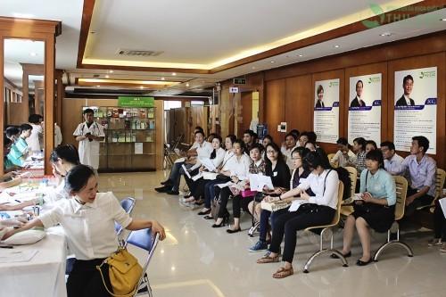 Rất nhiều cơ quan, doanh nghiệp tin tưởng lựa chọn bệnh viện Thu Cúc là địa chỉ thăm khám, chăm sóc sức khỏe định kì cho cán bộ, nhân viên của mình.
