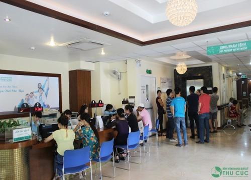 Bệnh viện Thu Cúc luôn là địa chỉ chăm sóc sức khỏe được đông đảo khách hàng tin tưởng lựa chọn
