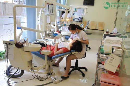 Khoa răng hàm mặt - bệnh viện Thu Cúc là địa chỉ thăm khám, chăm sóc sức khỏe răng miệng tin cậy của đông đảo khách hàng.
