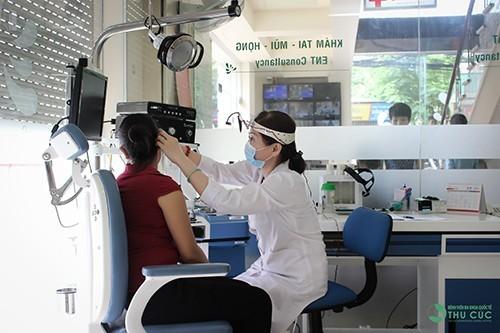 Bệnh viện Thu Cúc có đội ngũ bác sỹ chuyên khoa giỏi, giàu kinh nghiệm và hệ thống trang thiết bị y tế hiện đại, phục vụ tối đa nhu cầu thăm khám, điều trị của khách hàng.