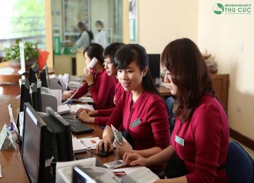 Tại bệnh viện Thu Cúc, người bệnh được đảm bảo tối đa quyền lợi bảo hiểm và được sử dụng các dịch vụ y tế chất lượng cao nhất...