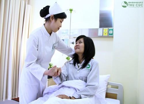 Tại bệnh viện Thu Cúc, khách hàng được bảo đảm tối đa quyền lợi bảo hiểm và được sử dụng những dịch vụ y tế chất lượng cao nhất cùng sự chăm sóc chu đáo nhất.