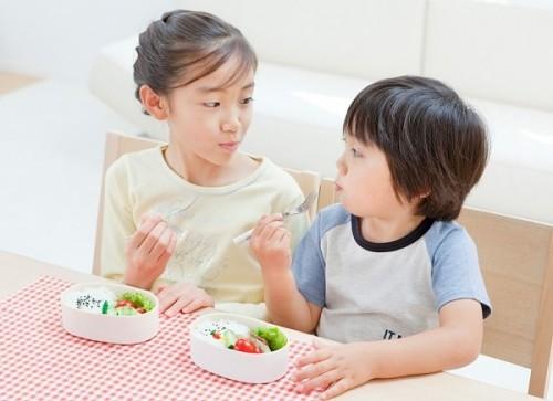 Chế độ ăn uống không hợp lí rất dễ khiến trẻ mắc các bệnh về đường tiêu hóa.