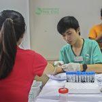 Công ty Vietnamnet Icom khám sức khỏe tại Bệnh viện Thu Cúc