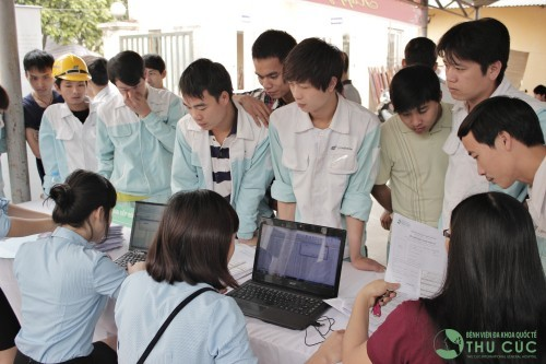 Bệnh viện Thu Cúc là đối tác tin cậy của nhiều công ty, doanh nghiệp trong việc chăm sóc sức khỏe người lao động.