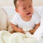 Bé bị rối loạn tiêu hóa và sốt