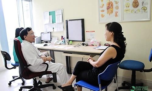 Người bệnh nên đi khám bác sỹ để được chẩn đoán và tư vấn điều trị tốt nhất.