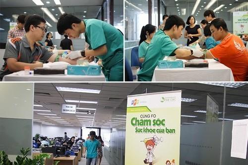Nhiều công ty chọn bệnh viện Thu Cúc là địa chỉ khám và chăm sóc sức khỏe cho nhân vân
