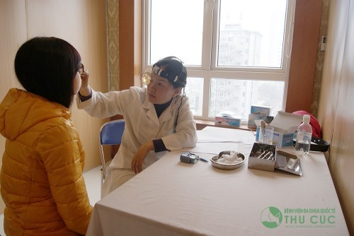 Bệnh viện Đa khoa Quốc tế Thu Cúc khám bệnh vào thứ 7 chủ nhật, thời gian từ 8 giờ tới 17 giờ.