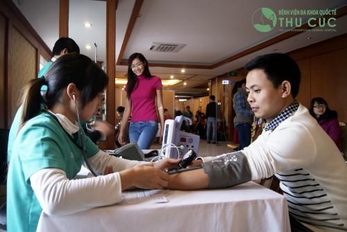 Bệnh viện Đa khoa Quốc tế Thu Cúc - có giá khám sức khỏe tiền hôn nhân phù hợp và chất lượng dịch vụ tốt, được đông đảo các bạn trẻ tìm đến.