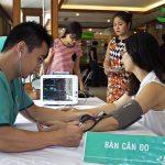 Ngân hàng MB khám sức khỏe tại Bệnh viện Thu Cúc
