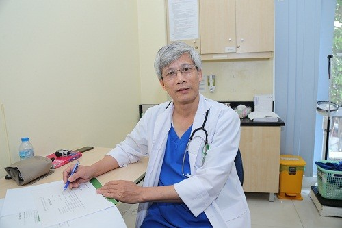 Bác sĩ Nguyễn Văn Doanh - bác sĩ nội khoa có nhiều năm kinh nghiệm trong khám và điều trị các bệnh lý thần kinh.