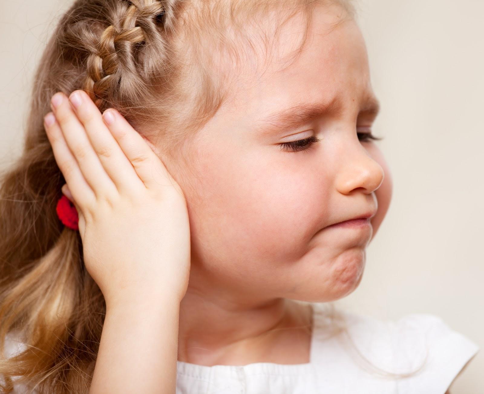 Chữa viêm tai giữa ở trẻ em