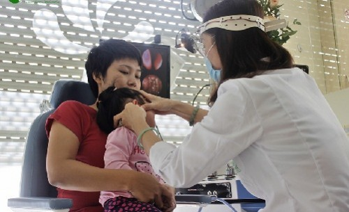 Các bác sĩ cho biết bệnh viêm tai giữa trẻ em có khả năng tái phát cao