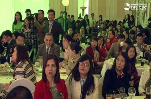Buổi lễ thu hút sự chú ý của giới truyền thông
