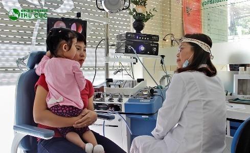 Chuyên khoa Nhi của Bệnh viện Thu Cúc có chất lượng khám, điều trị tốt
