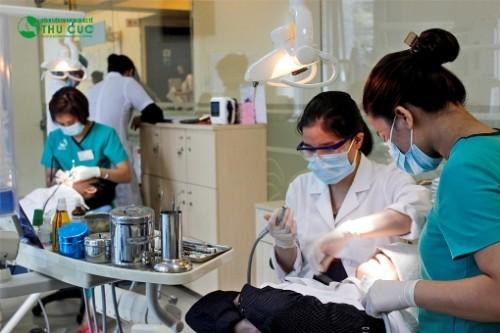 Khoa Răng hàm mặt Bệnh viện Thu Cúc là địa chỉ khám chữa nha khoa uy tín ở Hà Nội