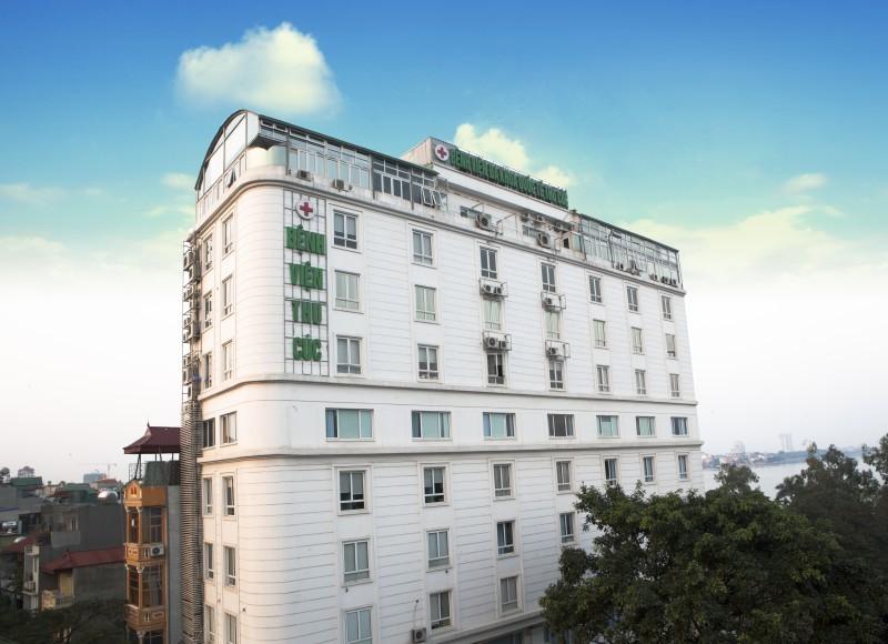 Khoa Phẫu thuật thẩm mỹ, Bệnh viện Đa khoa Quốc tế Thu Cúc tại 286 Thụy Khuê, Tây Hồ, Hà Nội