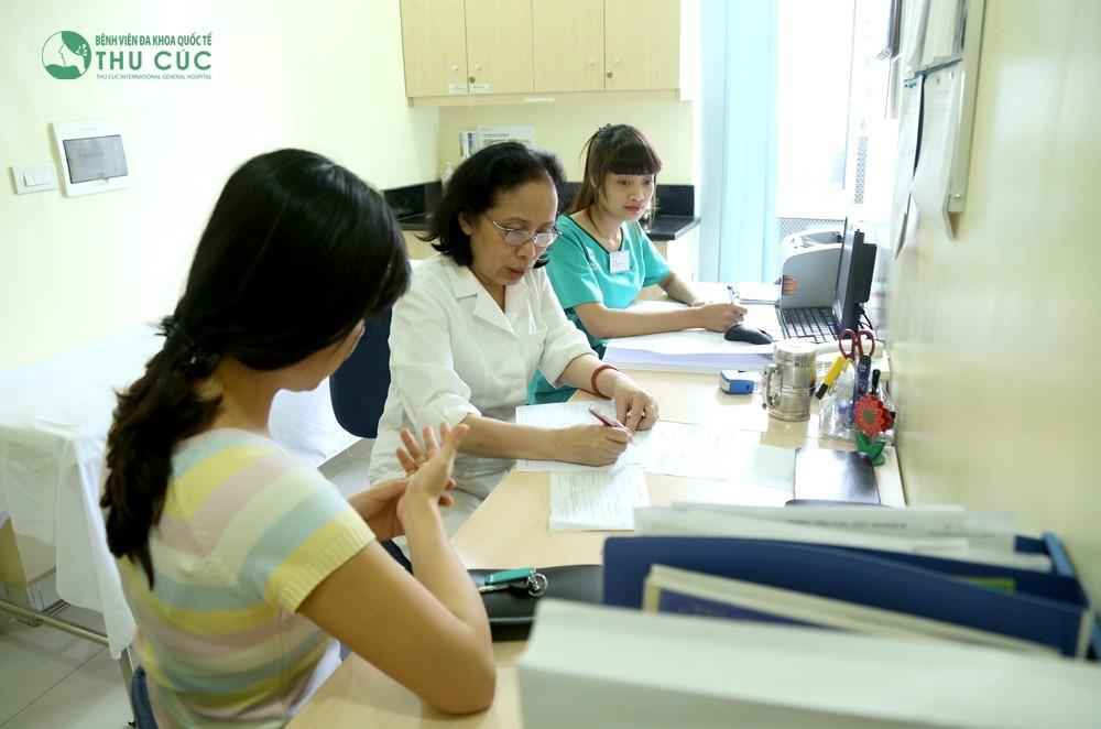 Chuyên khoa Da liễu Bệnh viện Đa khoa Quốc tế Thu Cúc là địa chỉ tin cậy về điều trị các bệnh ngoài da.