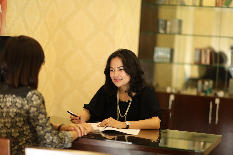 Bà Nguyễn Thu Cúc – Chủ tịch HĐQT Bệnh viện Đa khoa Quốc tế Thu Cúc