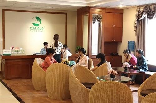 Phòng khám sản phụ khoa - Bệnh viện Đa khoa Quốc tế Thu Cúc.