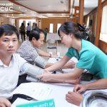 Quận ủy Tây Hồ khám sức khỏe tại Bệnh viện Thu Cúc