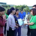 BV Thu Cúc trao quà tận tay đến người dân tỉnh Quảng Ninh sau mưa lũ