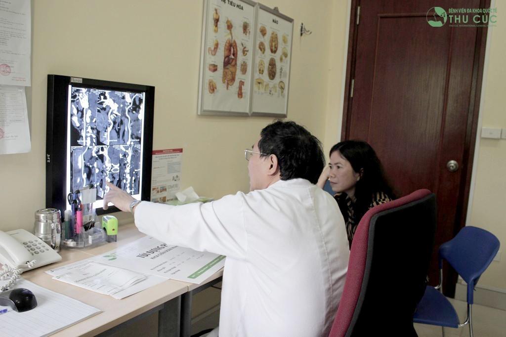 Chuyên khoa tim mạch Bệnh viện Đa khoa Quốc tế Thu Cúc.