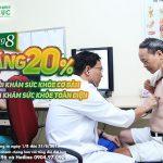 Ưu đãi lớn dành cho gói khám sức khỏe tháng 8 tại BV Thu Cúc
