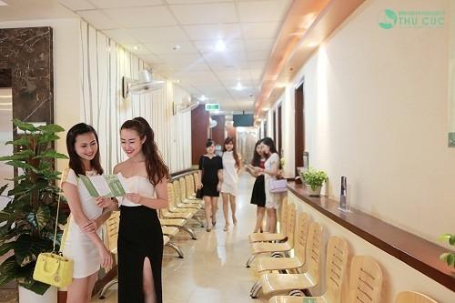 Phòng khám sản phụ khoa của Bệnh viện Đa khoa Quốc tế Thu Cúc là địa chỉ khám sinh sản uy tín, chất lượng.
