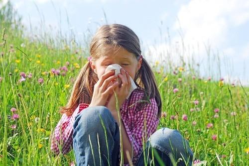 Dị ứng là một trong những nguyên nhân gây bệnh eczema ở trẻ em.