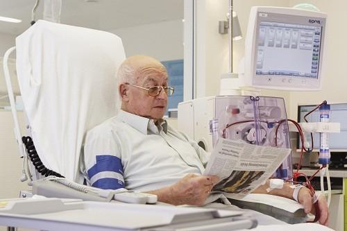 Lọc máu là một trong những lựa chọn điều trị của người bị suy thận.