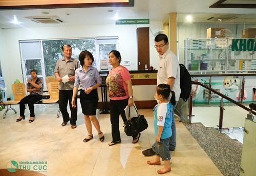 Qua hệ thống đặt lịch hẹn của Bệnh viện Đa khoa Quốc tế Thu Cúc, mọi nhu cầu khám, chữa bệnh của khách hàng đều được hỗ trợ nhanh chóng và chuyên nghiệp.